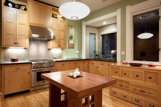 Kitchen - Asian - Kitchen - San Francisco