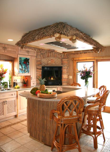 Kitchen King Inc tropical-kitchen