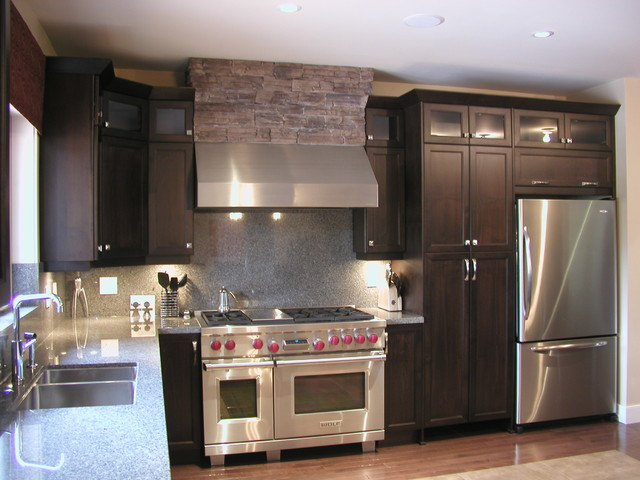 Kitchen korner projects contemporary kitchen for Kitchen design korner