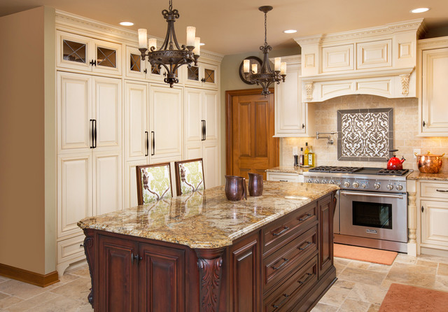 Kitchen Kraft Design Freedom Traditional Kitchen Columbus By Grabill Cabinets
