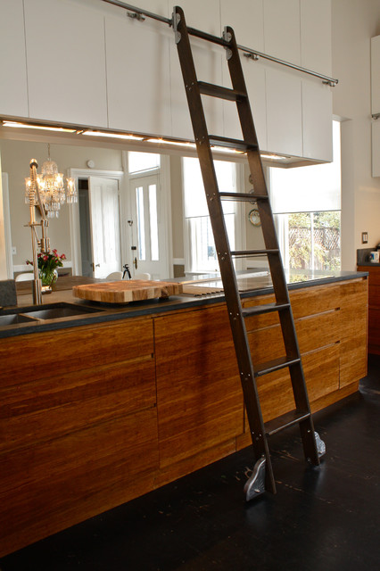 Kitchen Ladder - Eclectic - Kitchen - San Francisco - by Shannon Malone