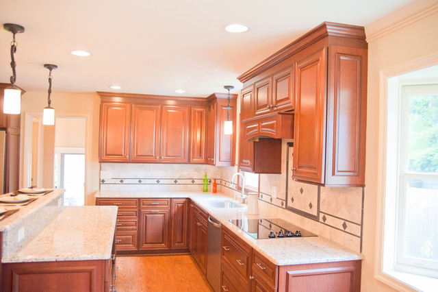 Kitchen, Laundry, and Bathroom Remodel in Red Bank, NJ traditional ...