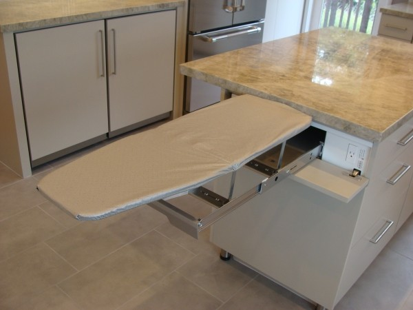 Kitchen Laundry & Ironing Board contemporary-kitchen