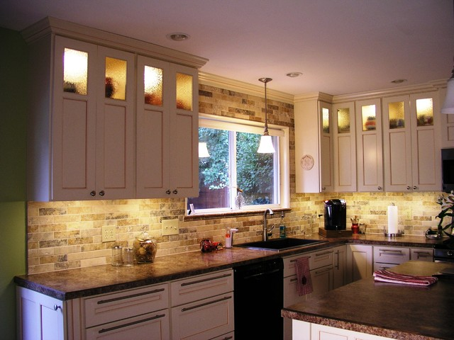 under cabinet led lighting, kitchen lighting, led under cabinet lighting, underc - Traditional ...