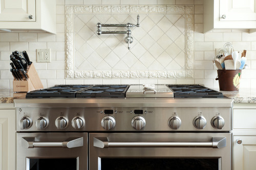 gorgeous kitchen where did you find the tile trim behind