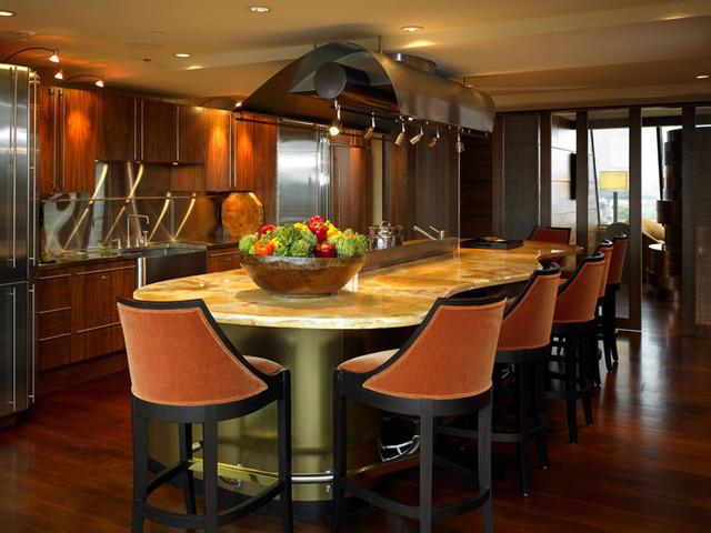 Kitchen - Burnt orange kitchen decor ...