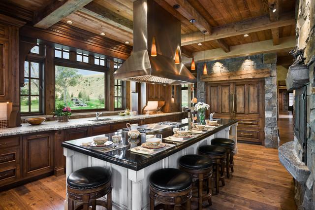 Locati Architects kitchen - traditional - kitchen - other -locati architects