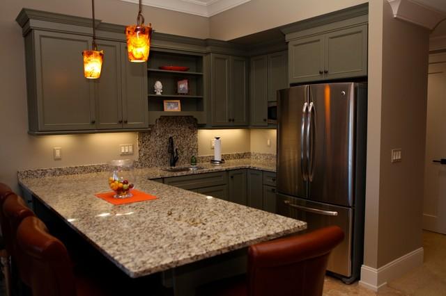 Kitchen lower level traditional-kitchen