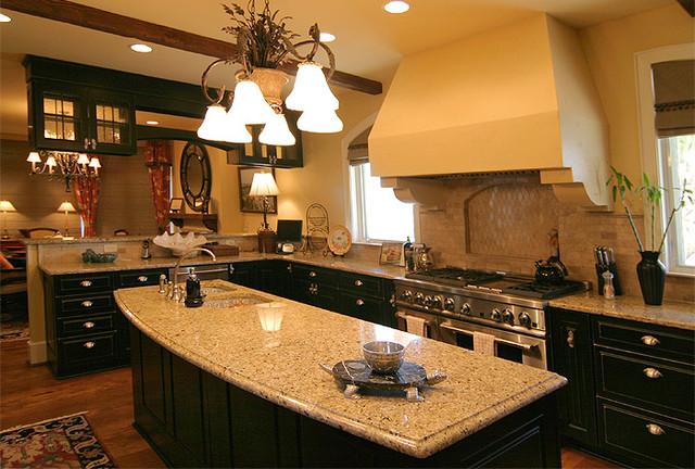 Lynn Residence on Bald Head Island, NC traditional-kitchen