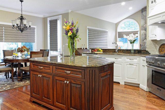 traditional kitchen by M.J. Whelan Construction