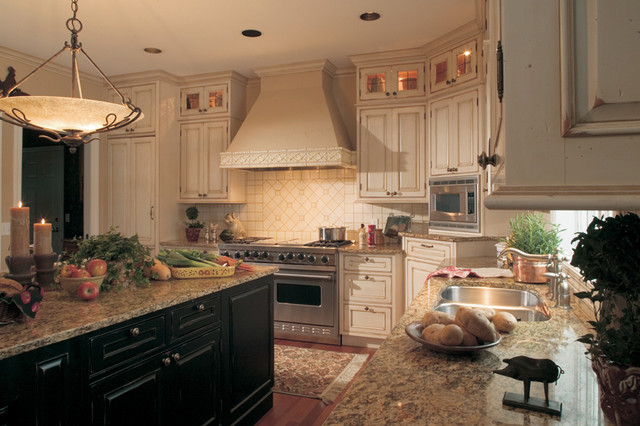 French Country White Kitchen Cabinets House Furniture