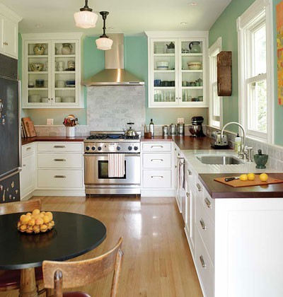 Kitchen Makeover Small Contemporary Other