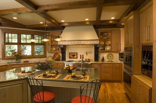 Kitchen rustic-kitchen