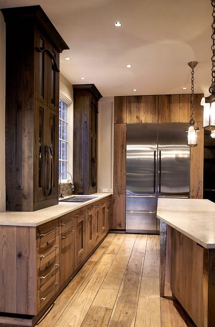 Kitchen - Contemporary - Kitchen - chicago - by Mark Hickman Homes
