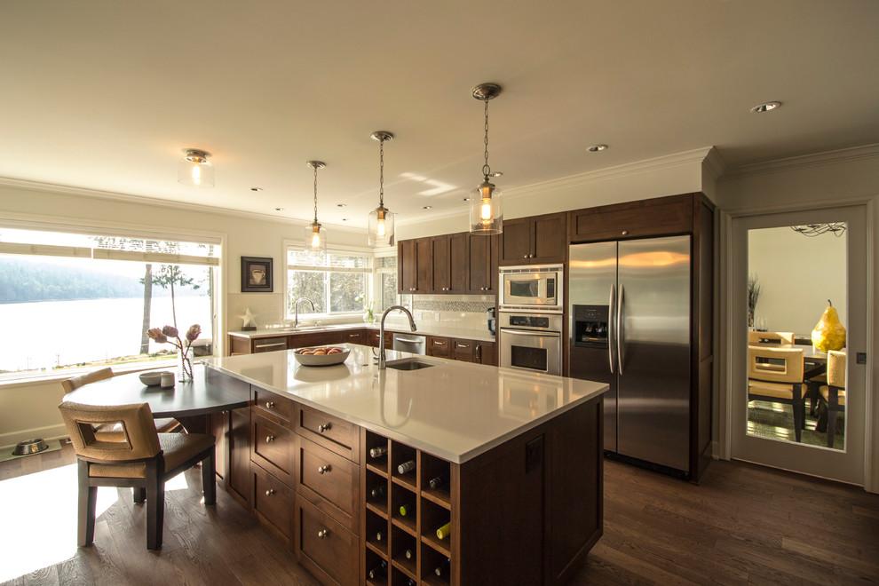 Kitchen - Craftsman - Kitchen - Vancouver - by McIntyre ...