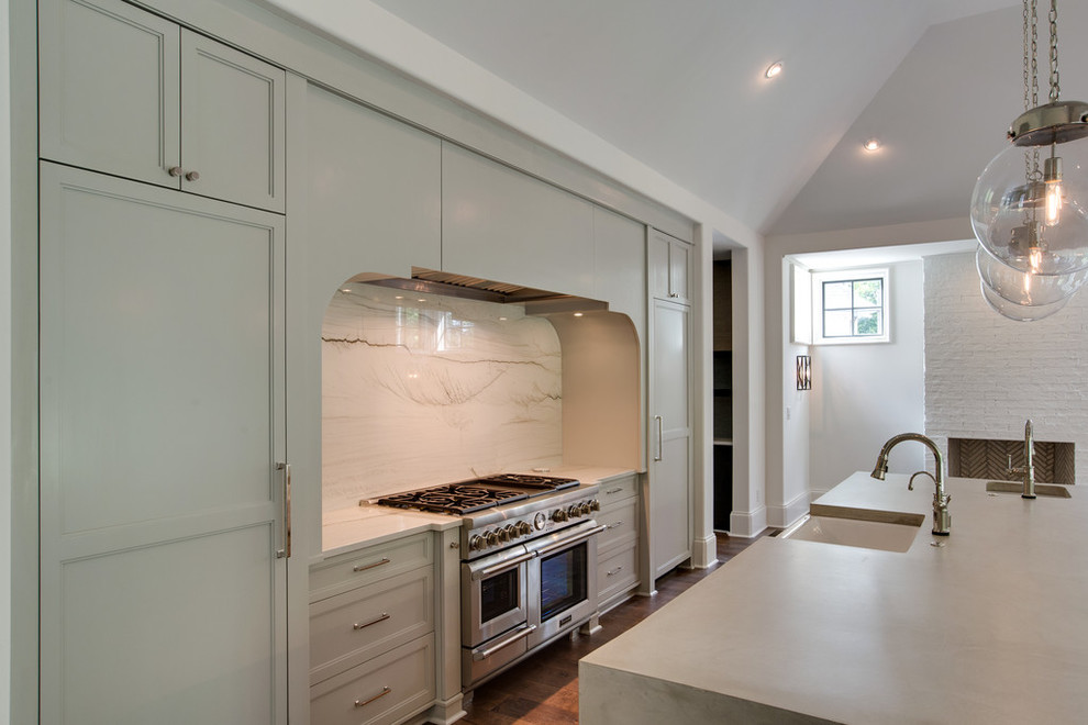 Inspiration for a kitchen remodel in Charlotte