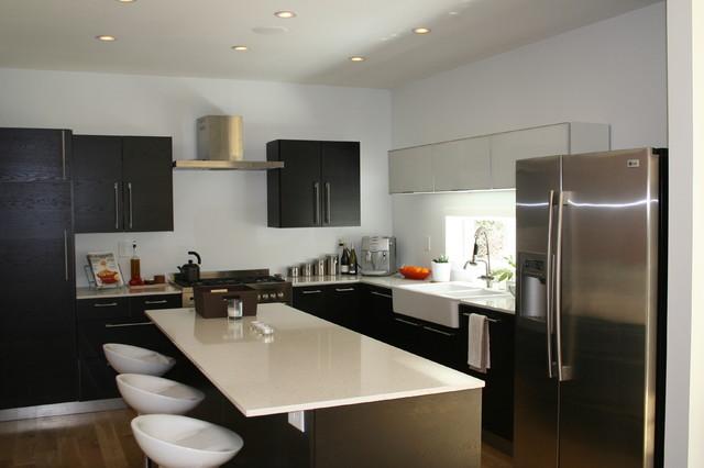 Kitchen Modern Bungalow Modern Kitchen Atlanta By Sean Key Design Architecture
