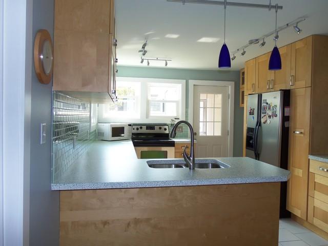 Kitchen _ New Counters & Backsplash modern-kitchen