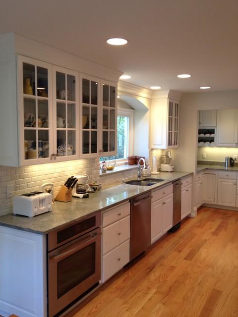 Kitchen - Newton, MA traditional-kitchen