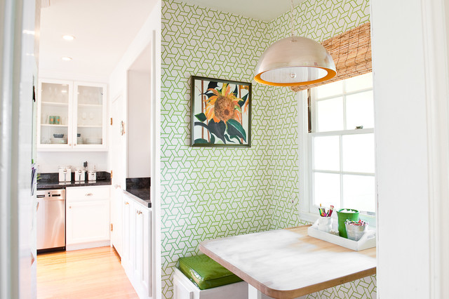 contemporary kitchen by Cristin Priest {Simplified Bee}