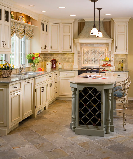 french country kitchen wallpaper kitchen traditional kitchen chicago by normandy 3632