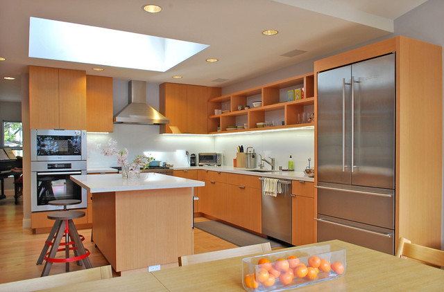kitchen - Modern - Kitchen - San Francisco - by Ojanen_Chiou architects LLP