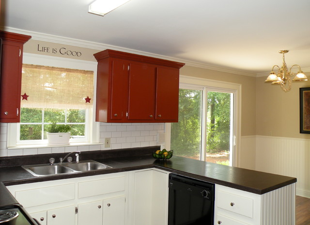 Kitchen On A Shoestring Budget Traditional Kitchen