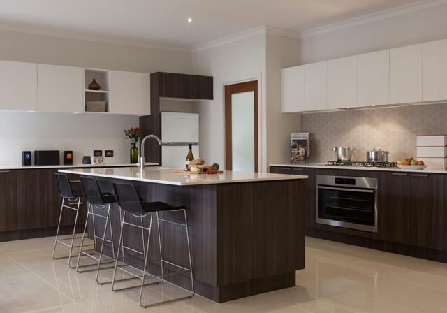 Kitchen Contemporary Kitchen Melbourne By Orbit Homes