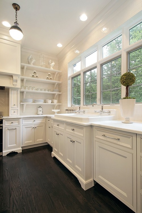 Traditional Kitchen by Greenville Interior Designer Linda McDougald