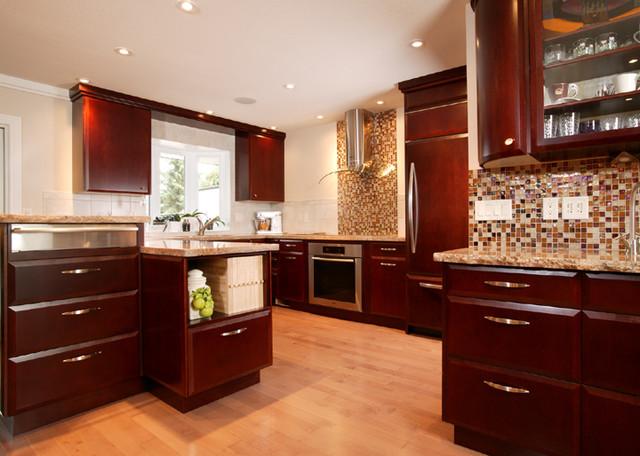 Thomas Residence traditional-kitchen