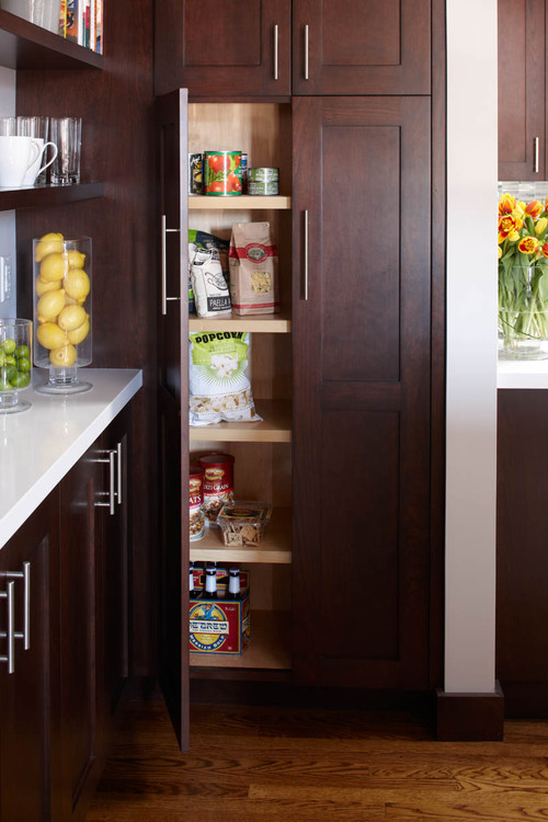 The Pros And Cons Of Walk-In Vs. Cabinet Pantries