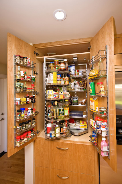 Kitchen Storage Contemporary Kitchen San Francisco by Bill