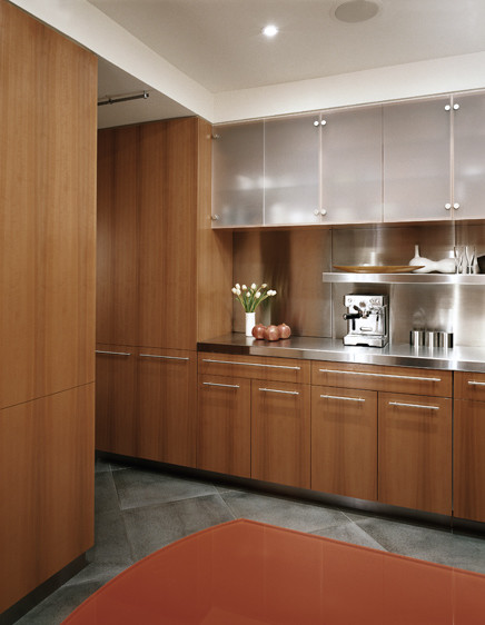 Kitchen Pass Through Modern Kitchen New York By