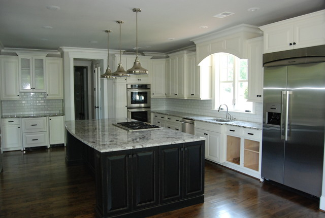 Kitchen for Passarelli custom homes