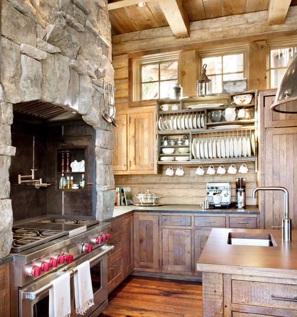 amazing rustic kitchens