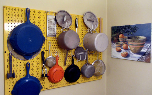 Kitchen Pegboard by Wall Control