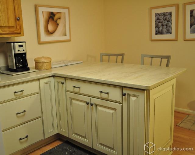 kitchen peninsula remodel traditional kitchen