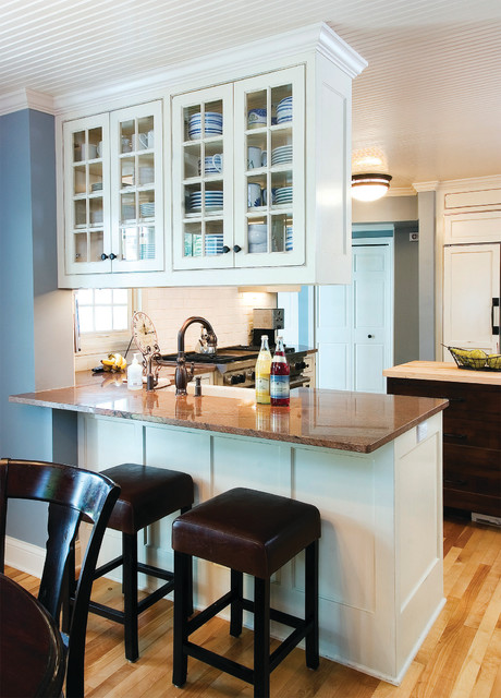 Fantastic Kitchen Peninsula With Bar Seating Traditional Kitchen Pdpeps Interior Chair Design Pdpepsorg