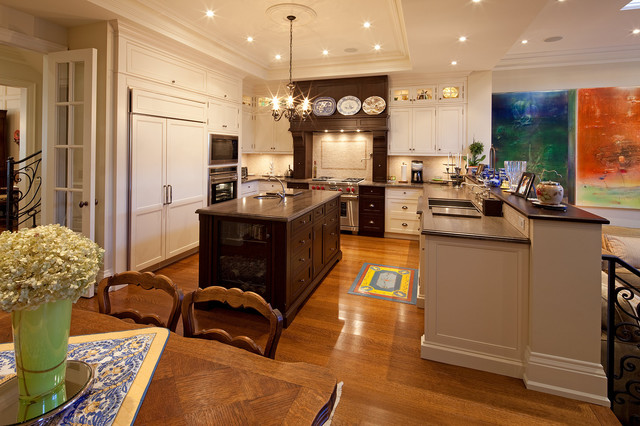 Kitchen traditional kitchen toronto by peter a for Nice kitchen pictures