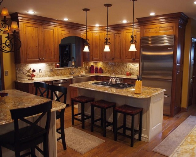Kitchen Portfolio - Eclectic - Kitchen - huntington - by Kitchens By Woody's