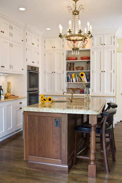 Perfect Kitchen Prep Area And Baking Center Victorian Kitchen