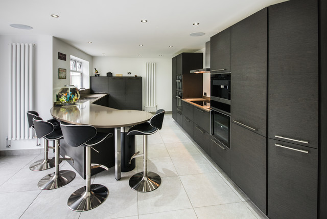 Kitchen Private Residence Cardiff Contemporary Kitchen Cardiff By Space Fitting Furniture