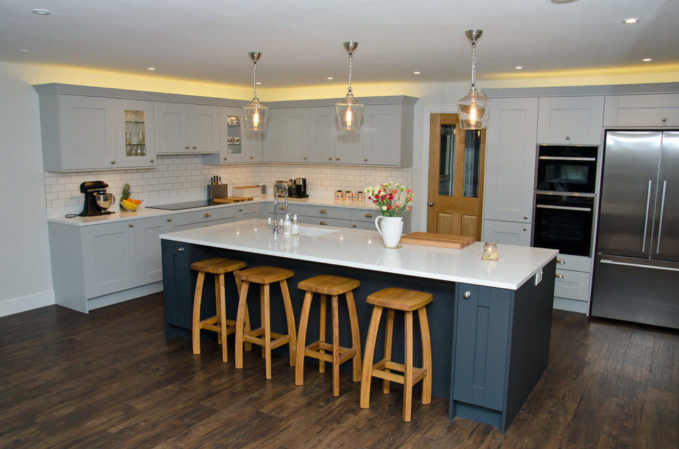 Kitchen Project in New Haw Surrey