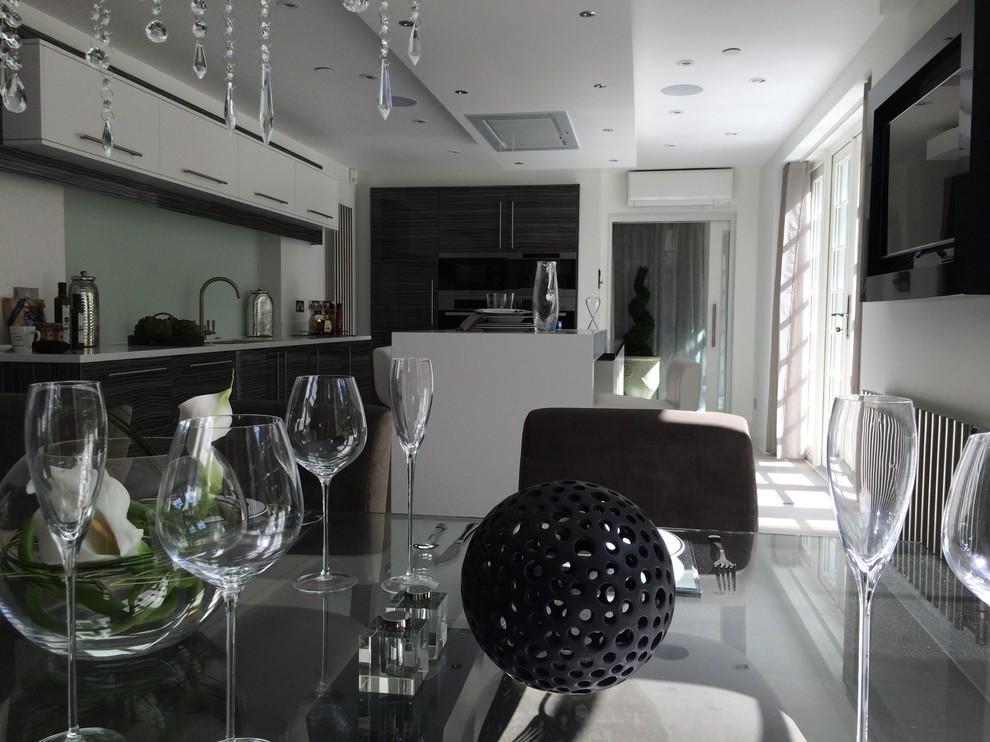 Kitchen Project in Savil Court Egham