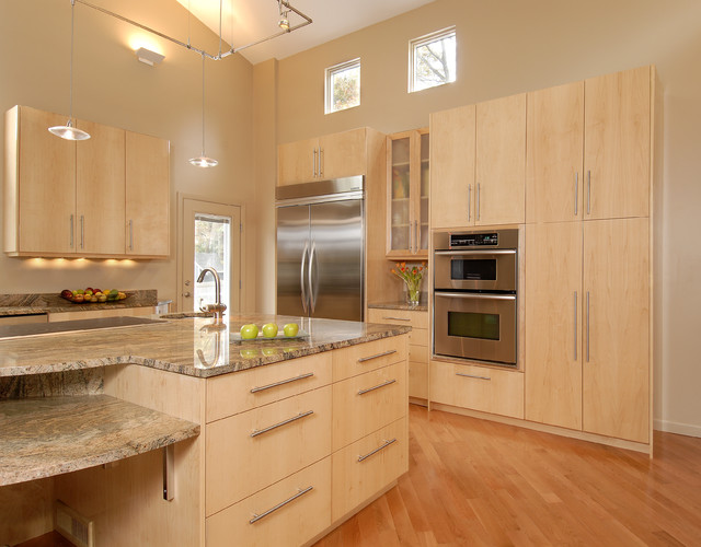 light maple kitchen cabinets. Kitchen Projects Contemporary-kitchen Light Maple Cabinets A