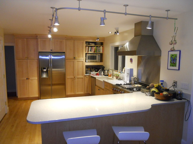 Kitchen Rail Lighting Transitional Burlington