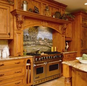 Kitchen Range Hoods eclectic-kitchen