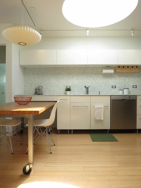 Kitchen scandinavian kitchen los angeles by ras a for Scandinavian kitchen backsplash