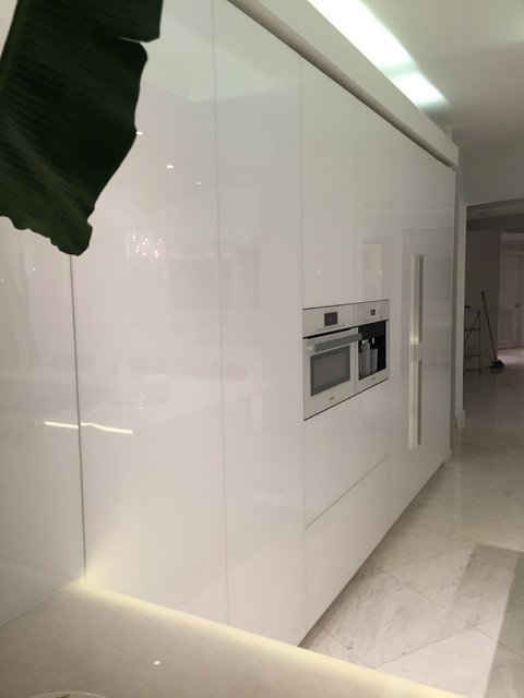 kitchen rauvisio crystal white doors. Black Bedroom Furniture Sets. Home Design Ideas