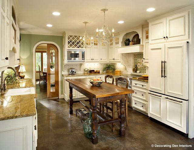 Kitchen re-design traditional-kitchen